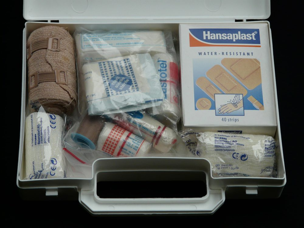 Trousse pharmacie