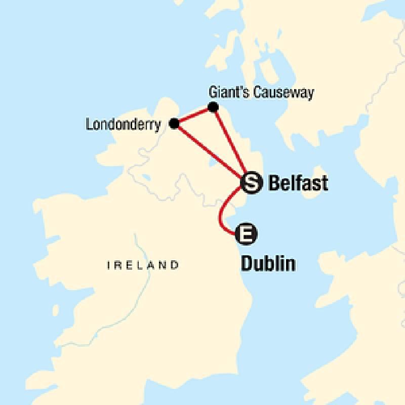 Tournée en Irlande