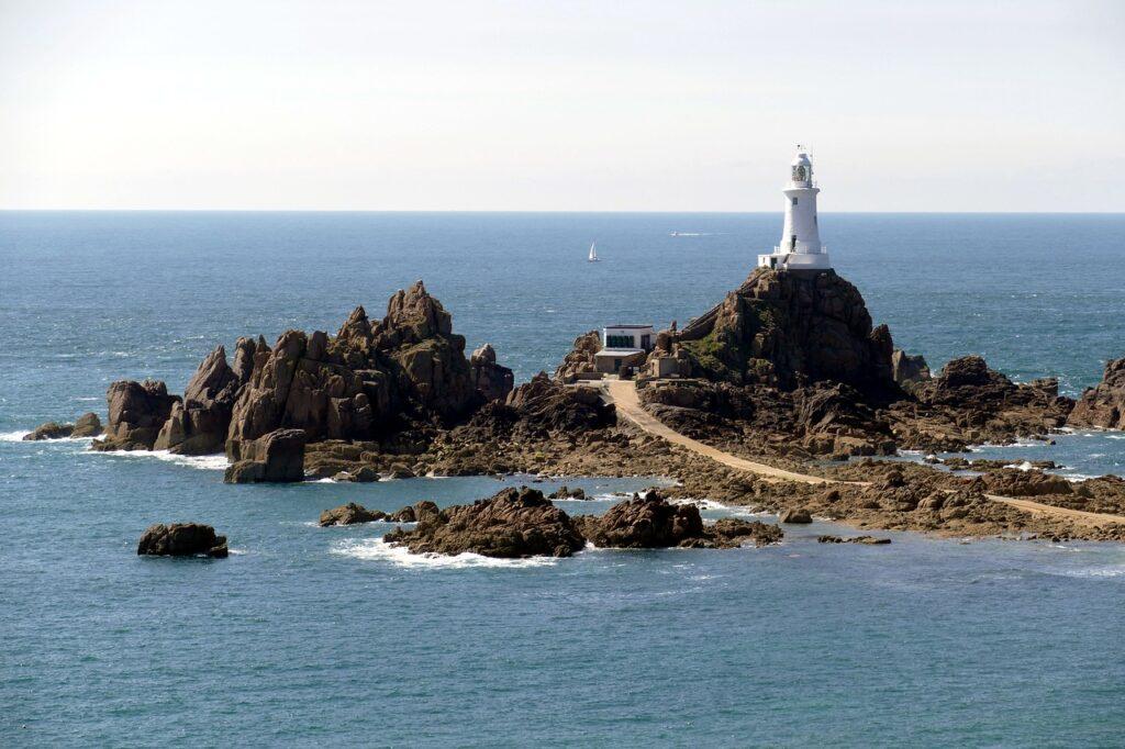 Destination l'île de Jersey entre l'Angleterre et la France
