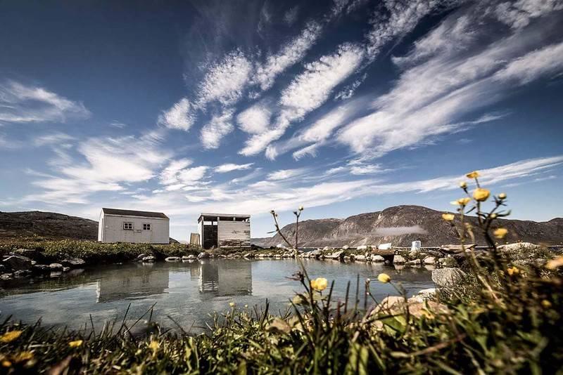 Sources d'eau chaude au Groenland